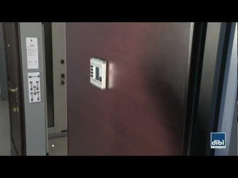 Montaggio spioncino elettronico BILLY DI.BI. Porte Blindate - YouTube