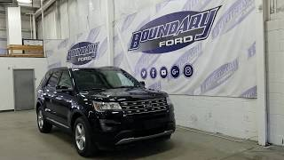 Preowned 2017 Ford Explorer XLT W/ Leather, Sunroof, V6 Overview | Boundary Ford