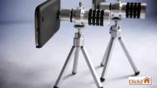 Объектив для iPhone. 12X ZOOM Mobile Telephone Lens
