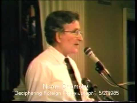 Bernie Sanders + Noam Chomsky: Deciphering Foreign Policy Jargon part 1/2