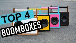 BEST 4: Boomboxes 2018
