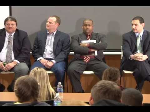 Sports Journalism Pros Talk Jobs with Students | Povich Panel