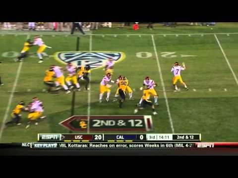 Matt Barkley vs  California 2011