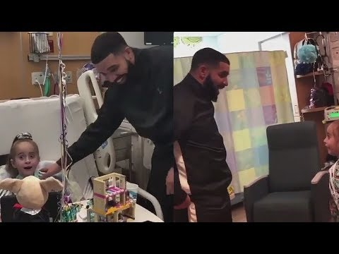 Drake Shocks Young Girl in the Hospital After She Does 'In My Feelings' Challenge
