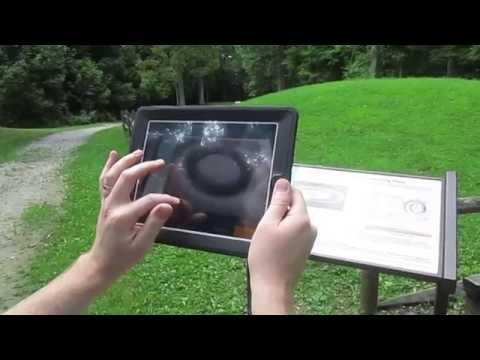 Adena-Hopewell Augmented Reality iOS App demo