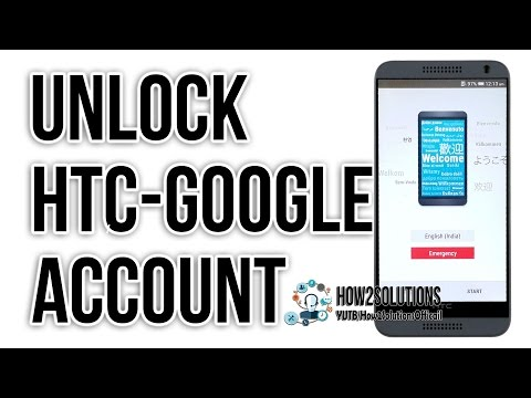 HTC Desire How to bypass frp lock 530, 630, 825, A9, M8, M9