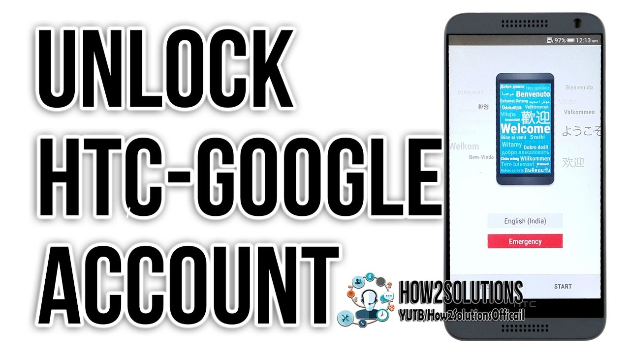 How to HTC Desire bypass Google account FRP Lock Android Phone