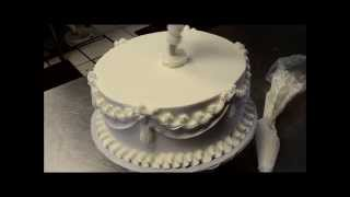 Wedding Cake Decorating In 5 Min - Learn The Secrets Of Bakery
