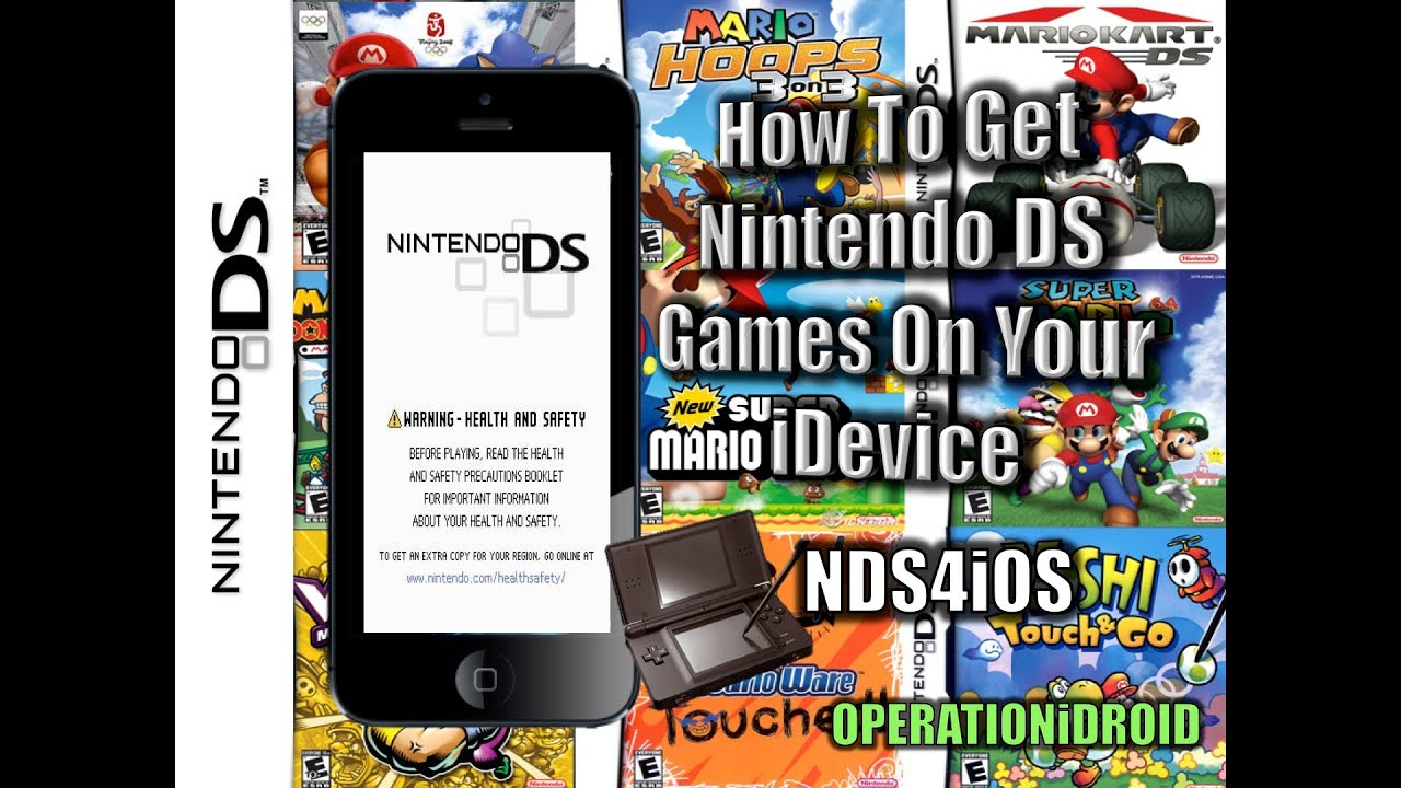 nes emulator iphone nds4ios nintendo ds emulator for ios no computer iphone 9878