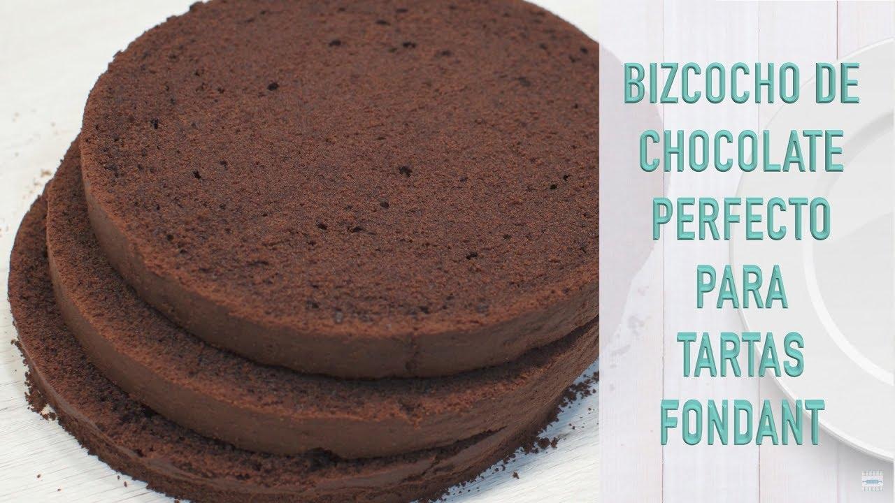 Bizcocho Perfecto Para Tartas Fondant De Chocolate Bizcocho De Chocolate Para Tortas Youtube
