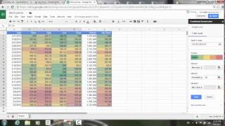 Conditional formatting improvements in Google Sheets