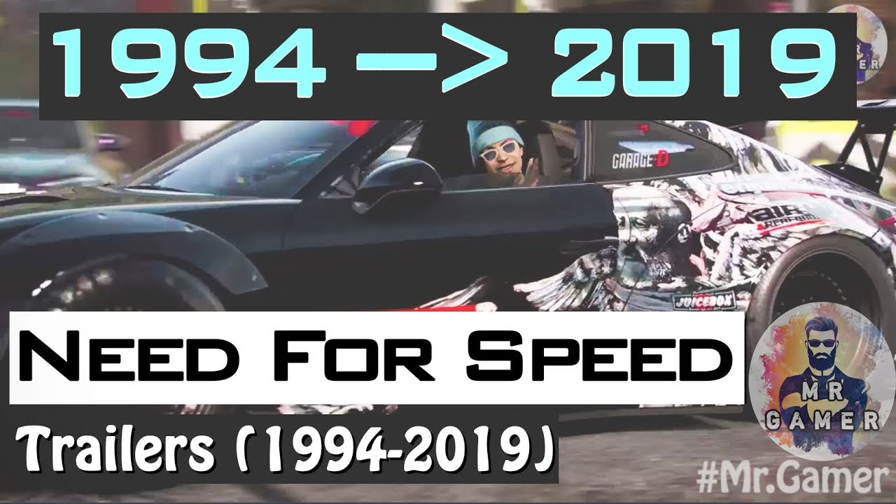 History of Need For Speed Trailers (1994 - 2019)