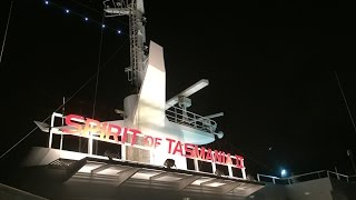 Boarding the Spirit of Tasmania