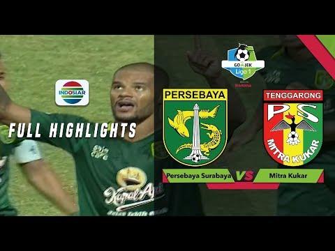 Persebaya Surabaya (4) vs (1) Mitra Kukar - Full Highlights   Go-Jek Liga 1 Bersama Bukalapak