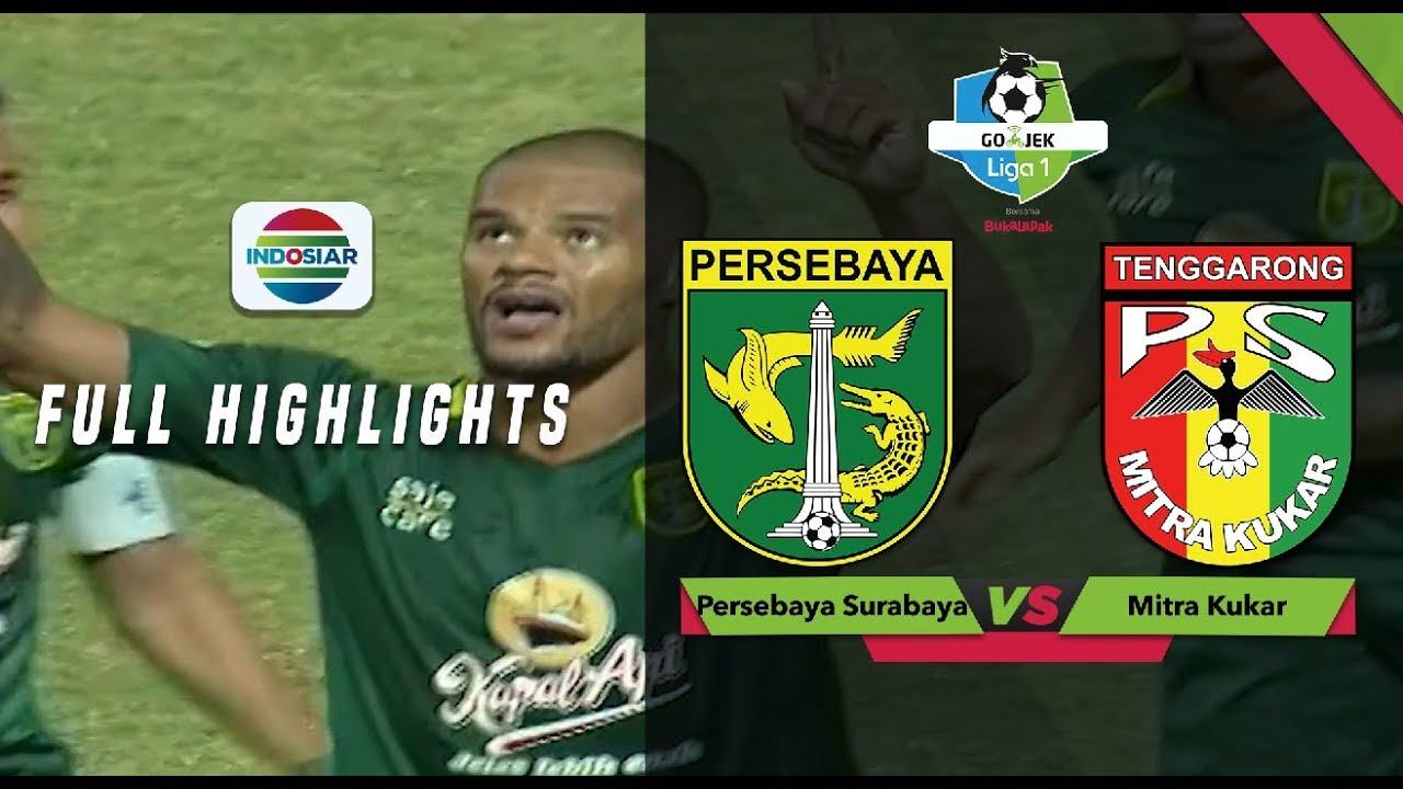 Persebaya Surabaya  Mitra Kukar Full Highlights Go Jek Liga  Bersama Bukalapak