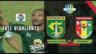 Persebaya Surabaya (4) vs (1) Mitra Kukar - Full Highlights | Go-Jek Liga 1 Bersama Bukalapak