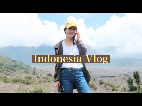 Indonesia Vlog #1 | Mt. Bromo, Resort Room Tour, & Local Foods 😋