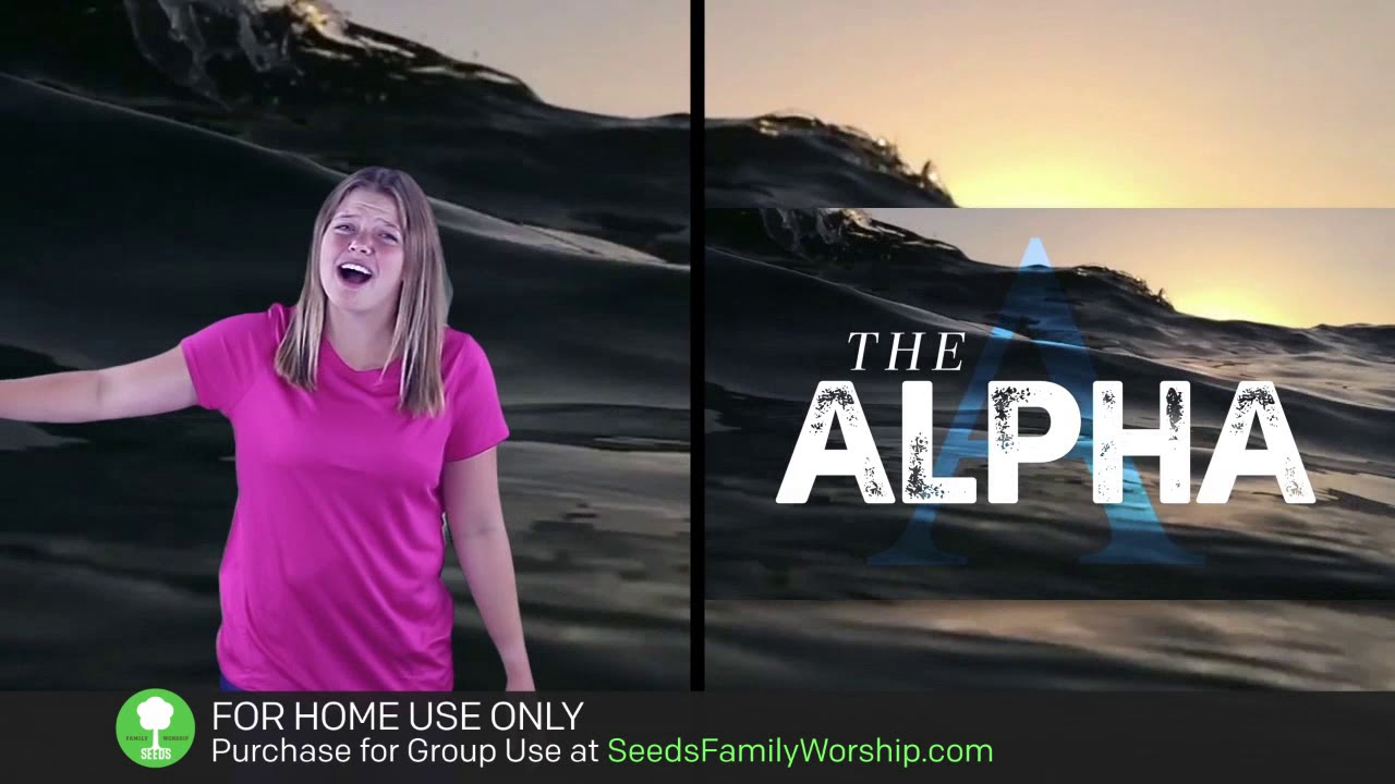 Download Revelation 1:8 - The Alpha and The Omega (Hand Motions)