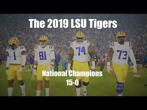 The 2019 LSU Tigers
