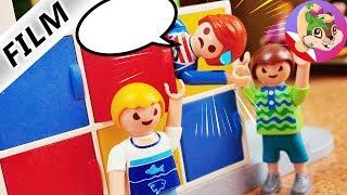 Playmobil Rodzina Wróblewskich JULIAN PADA OFIARĄ STARSZYCH CHŁPCÓW! Mobbing w szkole Hani!