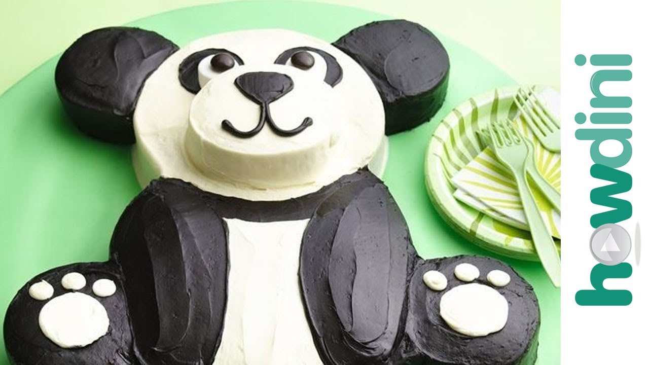 birthday cake ideas  how to make a panda bear birthday