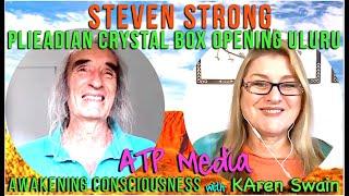 ✨Plieadian Crystal Box Activation 21 Dec Uluru Steven Strong