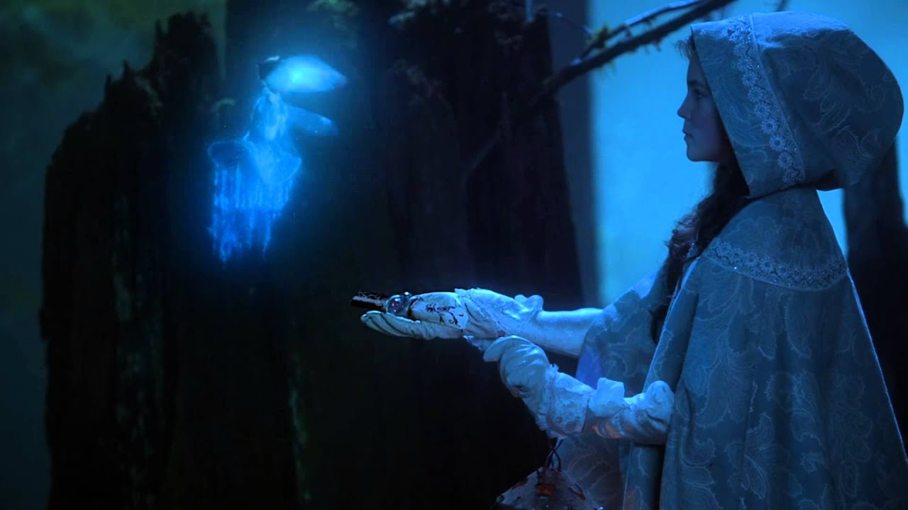 """Once Upon A Time Belle Blue Fairy: """"In O..."""