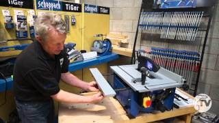 Scheppach Hs80 Table Top Saw - A Toolstop Review