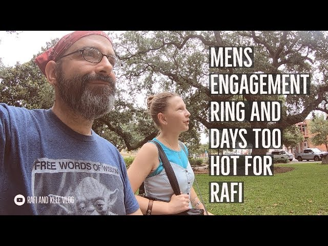 Mens Engagement Ring And Days Too Hot For Rafi