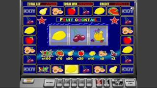 Fruit Cocktail slot online + bonus games WIN 9 Million
