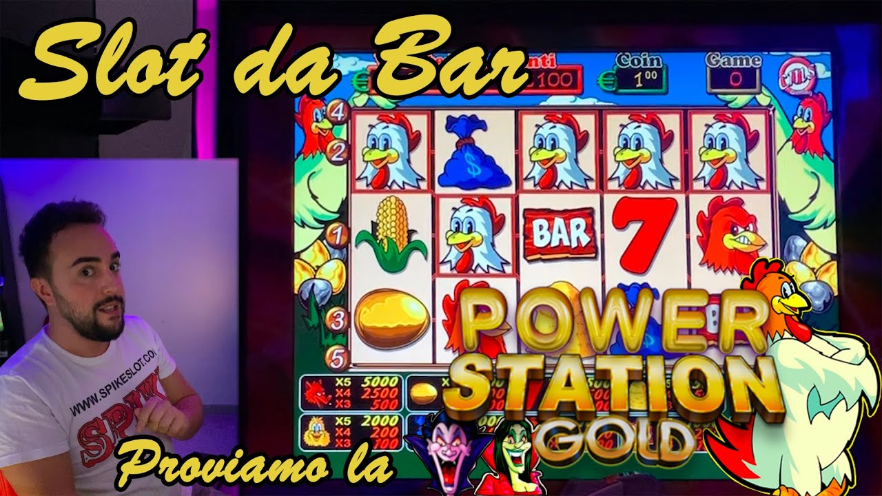 SLOT BAR - Proviamo la ???? POWER STATION GOLD ????????????‍♂️???? (Multigioco Cms/Mag)
