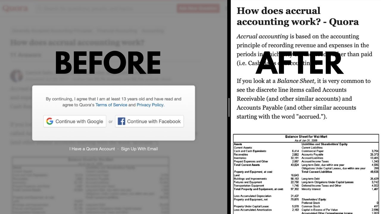 How To Read Blurred Text - Safari Reading Mode