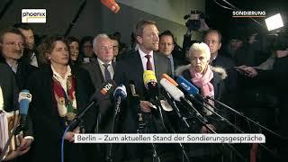 FDP bricht Sondierungen ab: Statement Christian Lindner am 19.11.17