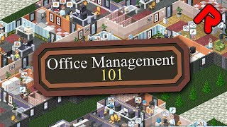 OFFICE MANAGEMENT 101 gameplay: Stop Them Slacking Off or Else! (0.5.1 demo) | ALPHA SOUP