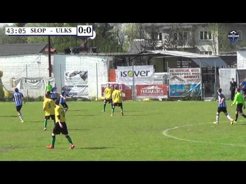 Skrót meczu Sokół Słopnice - ULKS Korzenna 2:0 (0:0) 08.05.2016r.
