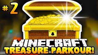 Minecraft - TREASURE HUNT PARKOUR! - Part 2 - w/ Preston & Lachlan