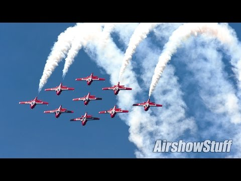 Canadian Forces Snowbirds 2016 High Show