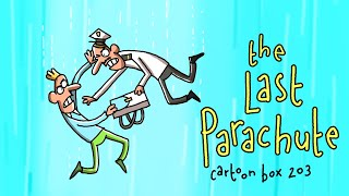 The Last Parachute | Cartoon Box 203 | by FRAME ORDER | hilarious dark cartoons