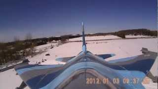 Hobbyking 90mm EDF F16 Afterburner Flameout