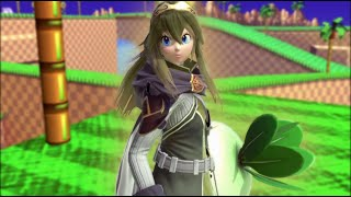 A Lucina with peach combos??