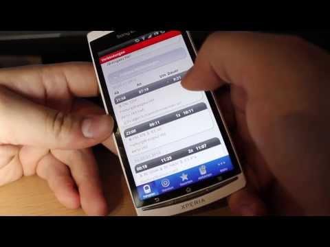 DB Navigator - Deutsche Bahn App im Test - die besten android apps