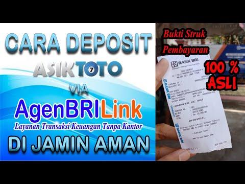 Cara Deposit Asiktoto Lewat Brilink - Tips Deposit Togel Online Tanpa Atm.