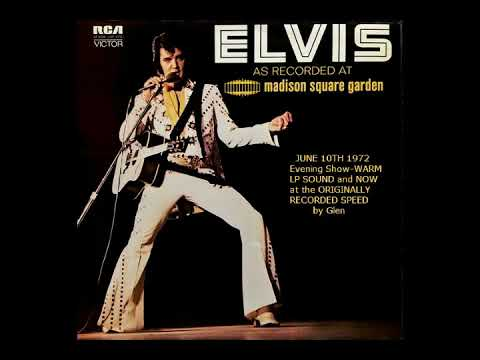 ELVIS As Recorded At Madison Square Garden at Original Speed Now