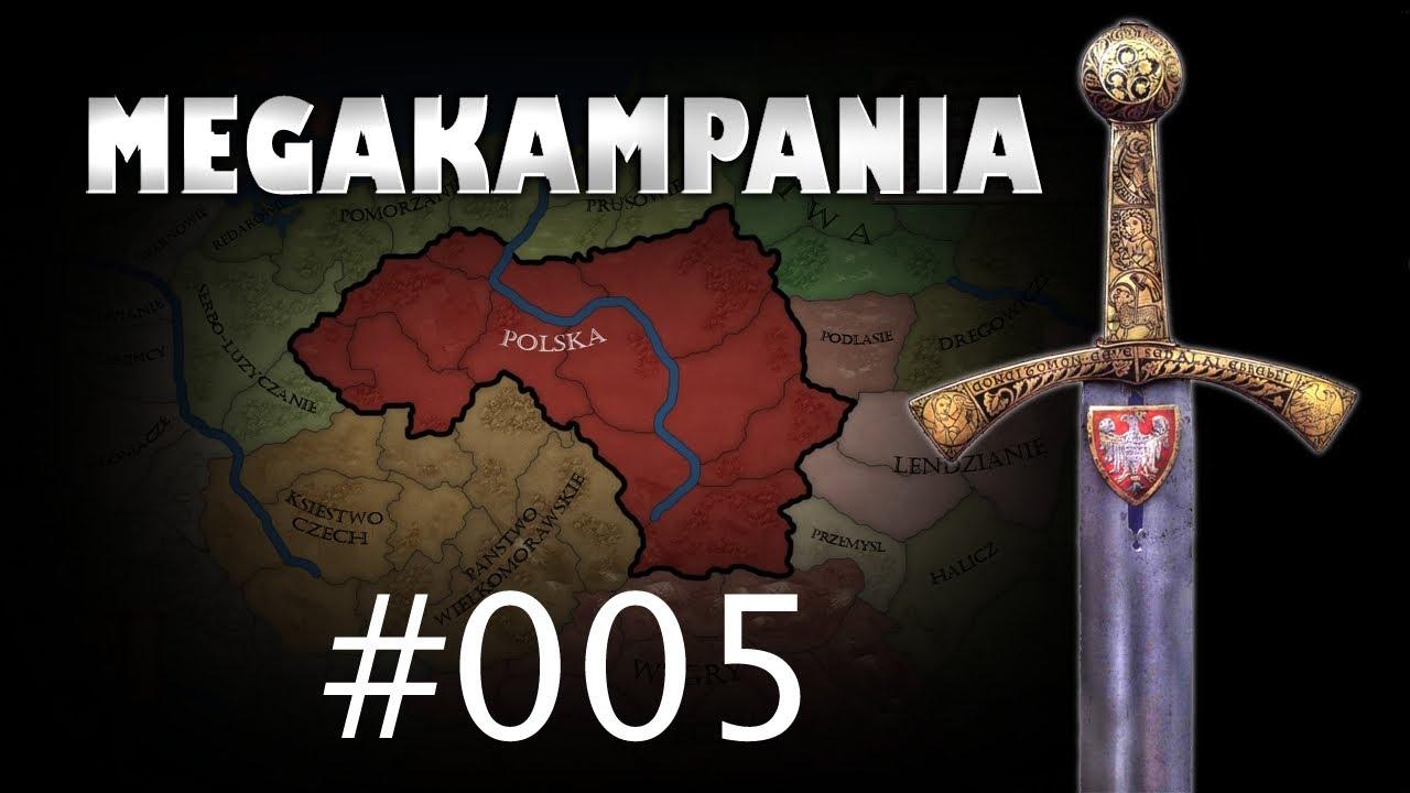 Megakampania #005 - Zagrajmy w Crusader Kings 2 - Zjednoczenie Polski (Lata 894-903)