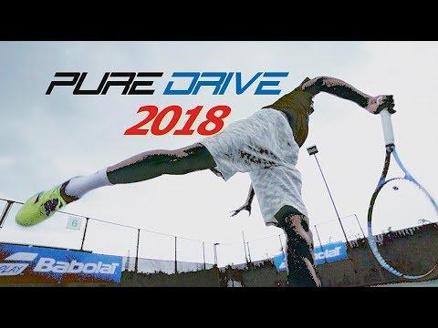 PURE DRIVE 2018ラケットレビュー