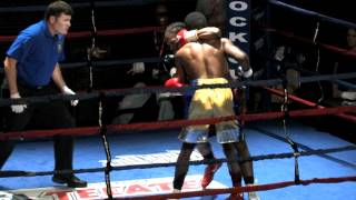 Georgia Boxing Championship March 2 2012 Joseph Benjamin vs Quatavious Cashmov