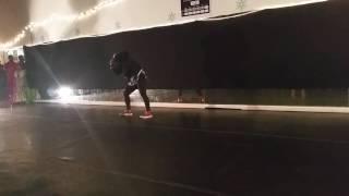 Hip Hop instructor, Kassy Francis