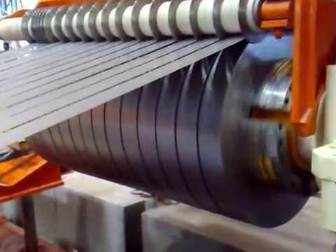 Steel Coils Slitting Machine/High Speed Steel Coil Slitting Line