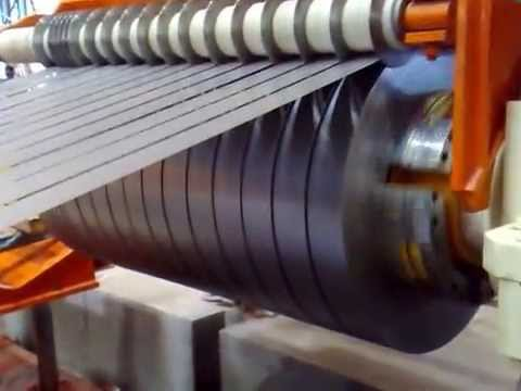 Steel Coils Slitting Machine High Speed Steel Coil