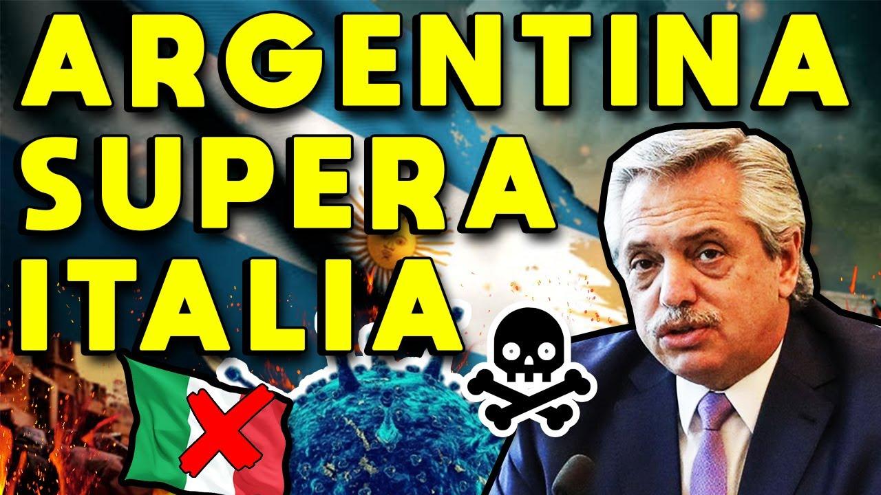 ARGENTINA SUPERA A ITALIA EN CONTAGIOS CORONAVIRUS: DESASTRE SANITARIO Y FUTURO COLAPSO